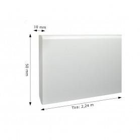 Rodapié de PVC Diseño Blanco