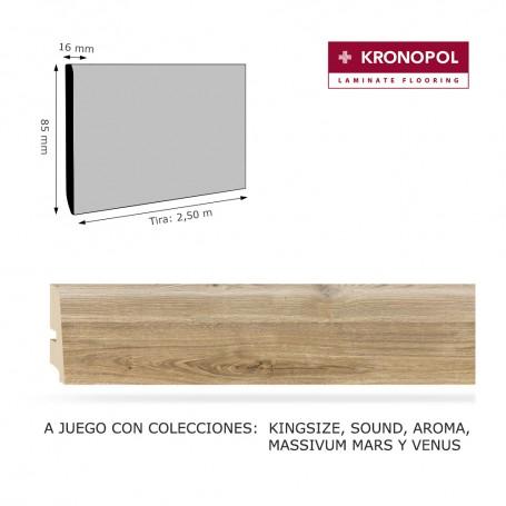 Rodapié Kronopol a juego 85 X 16 mm