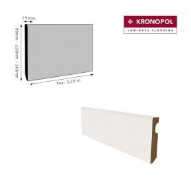 Rodapié Kronopol Lacado Blanco (altura a elegir)