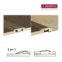 Perfil Kronopol 2 en 1 a Juego con suelos Alfa, Kappa-Omegga y Delta