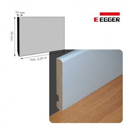 Rodapié Egger Lacado Blanco 70 X 15 mm