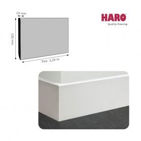 Rodapié Haro Lacado Blanco 120 X 15 mm