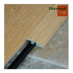 Perfil Transición para Parquet Diswood Top Roble Rechapado