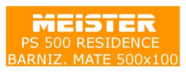 MEISTER - PS400 RESIDENCE - 500 x 100