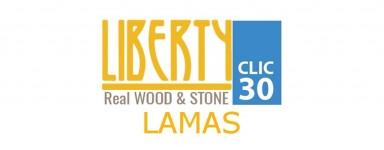 LIBERTY CLIC REAL WOOD & STONE 30 - LAMAS