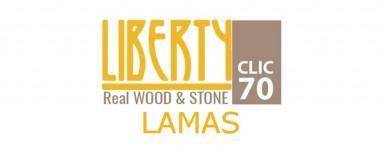 LIBERTY CLIC REAL WOOD & STONE 70 - LAMAS
